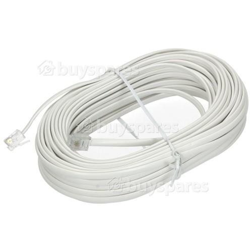 Avix ADSL 15M Modem Cable RJ11 Plug To RJ11 Plug