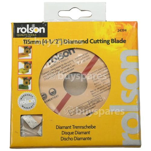 Rolson Dry Cut Segmented Diamond Tipped Blade