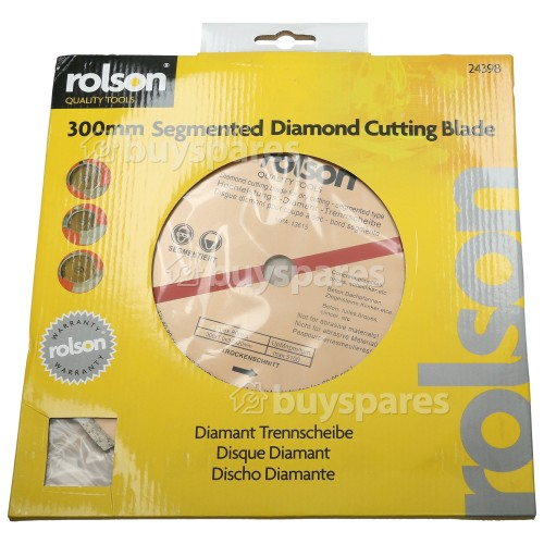 Rolson Hochleistungs Diamanttrennscheibe