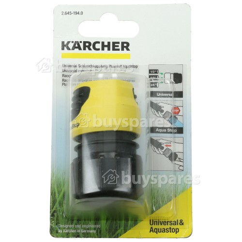 Karcher Universal Connector Plus With Aquastop