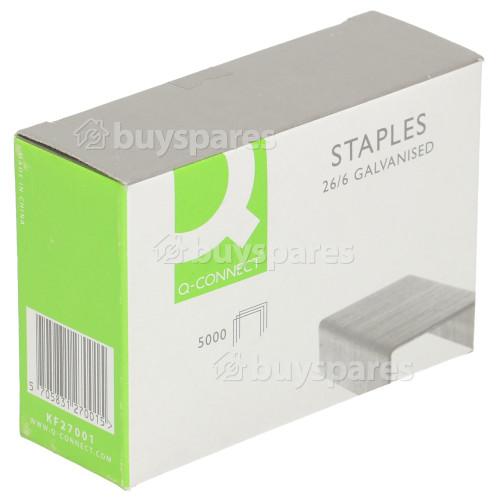 Staples Advantage 26/6 Staples (Box Of 5000)