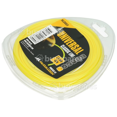 Universal Powered By McCulloch NLO003 Round Nylon Line