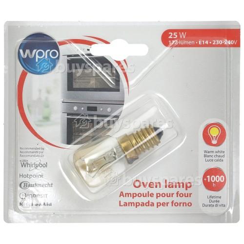 Wpro 25W T25 SES (E14) 300º Pygmy Oven Lamp
