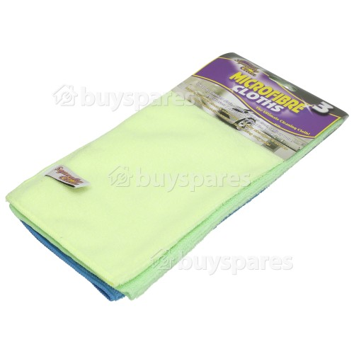 Ramon Microfibre Cloths (Pack Of 3)