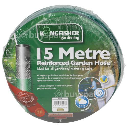 Kingfisher 15m Reinforced Garden Hose