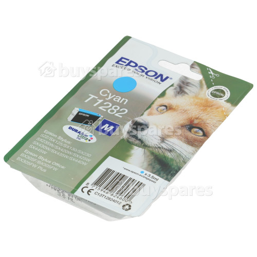 Epson Genuine T1282 Cyan Ink Cartridge