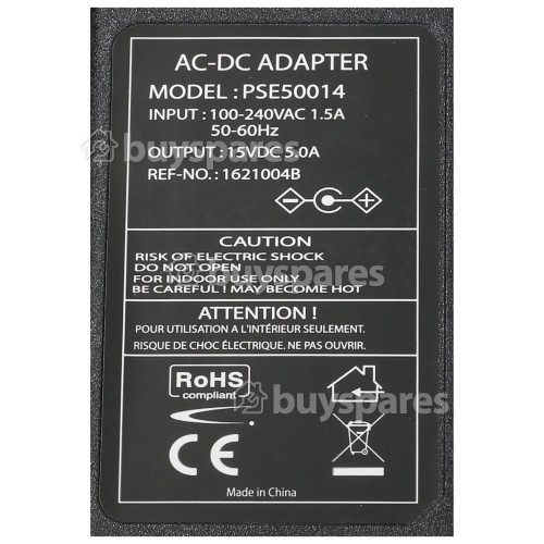 Dantax LCD TV AC Adapter (2 Pin Euro Plug)