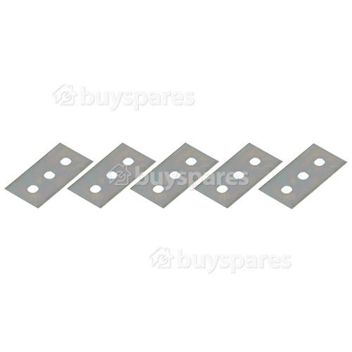 Ceramic / Induction / Glass Hob Scraper Blades (Pack Of 5)