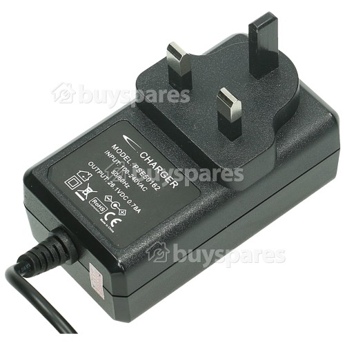 Compatible Dyson Vacuum Cleaner Battery Charger - UK Plug : Input: 100-240V Output 26.1 Volts 0.78A