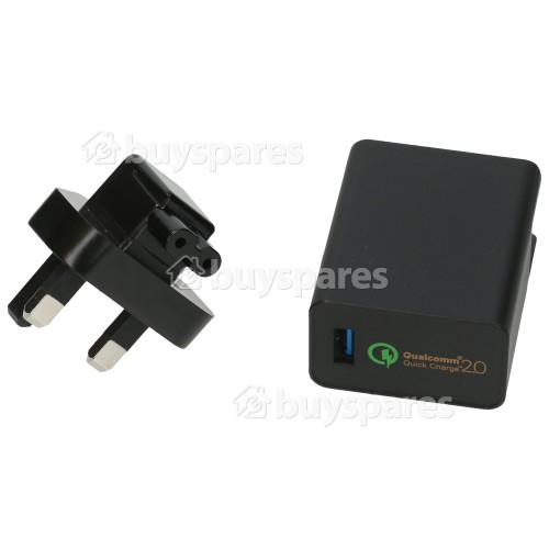 Asus Qualcomm 2.0 18W USB Ladegerät - GB Stecker
