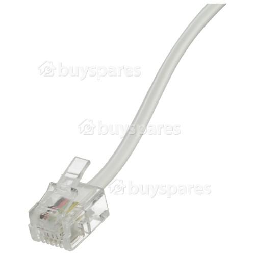 Avix ADSL 10m Modemkabel RJ11 Stecker Auf RJ11 Stecker