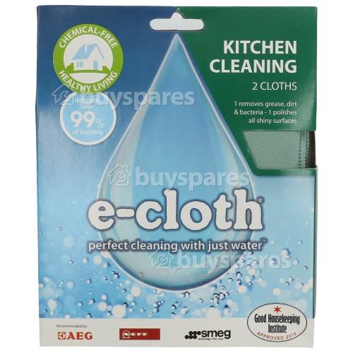 Pack Chiffon De Nettoyage Pour Cuisines E-Cloth