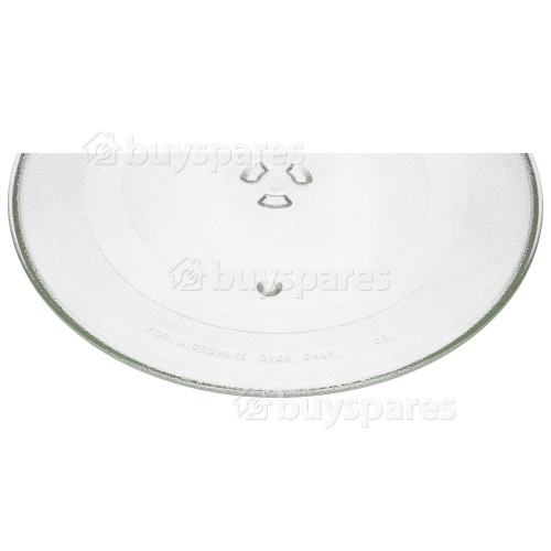 DeDietrich Glass Turntable: Microwave (Round Tray Plate) 356MM Dia
