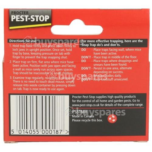 Pest-Stop pré-Appâtés Snap piège pour souris Single