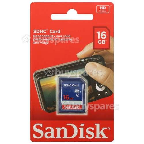 Tarjeta De Memoria 16GB - SDHC Sandisk