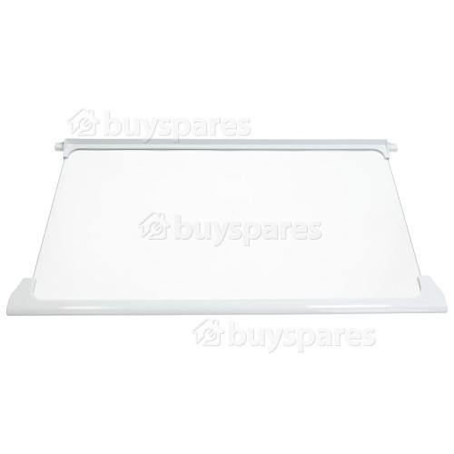 LEC Kühlschrank-Glasplatte Kpl. - Oben