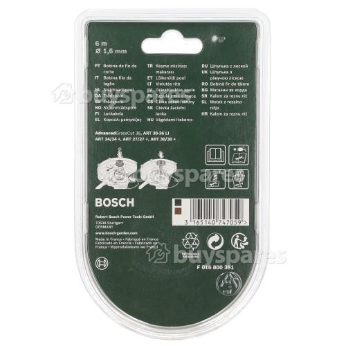 Bosch Rasentrimmer-Spule & Faden