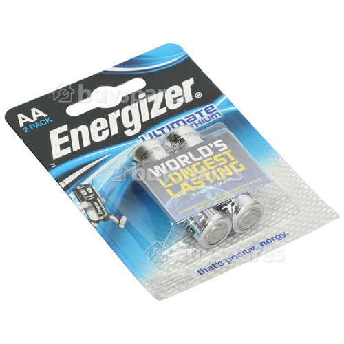 Energizer Ultimate Lithium AA Batterie - 2er Pack