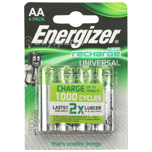 Energizer AccuRecharge Universal AA Batterien - 4er Pack