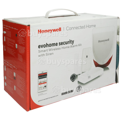 Honeywell Evohome Smart Home Funk-Alarm Kit Mit Sirene (HS913S)