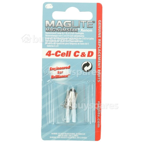 Mag-lite 4 Cell Magnum Star Replacement Bulb