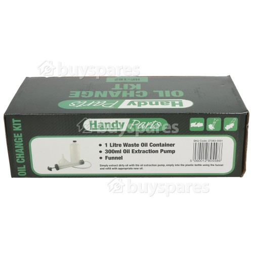 Handy Lawnmower Oil Change Kit