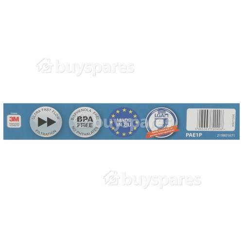 Electrolux 1 Water Filter PAE1PN