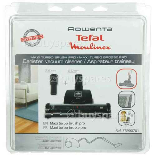 Tefal Turbodüse 32mm Plus 35mm Adapter (weit) - Rowenta Moulinex Tefal