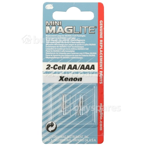 Mag-lite AA Replacement Bulb (Pack Of 2)