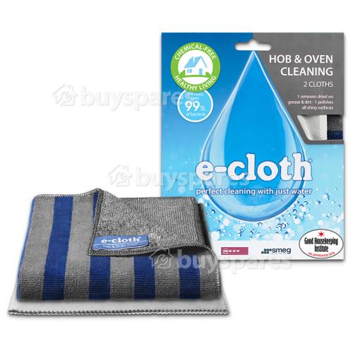 Kit De 2 Chiffons En Microfibre Pour Plaques De Cuisson Et Fours E-Cloth
