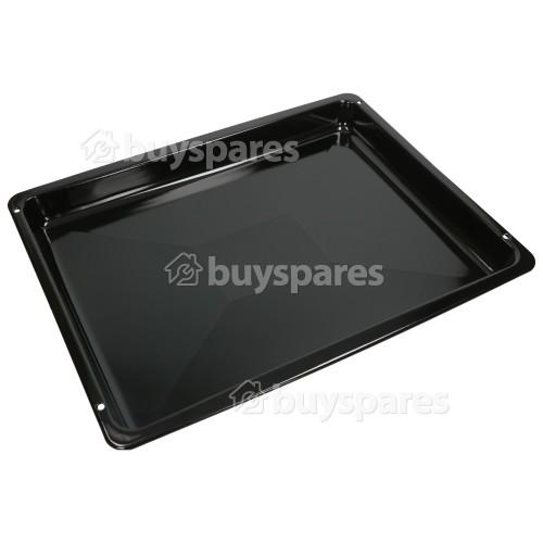Kitchen Magic Enamelled Grill Pan - Black : 462X372mm X 37mm Deep (Cookshop)