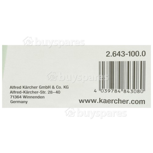 Karcher K4-K7 SH 5 Suction Hose & Filter