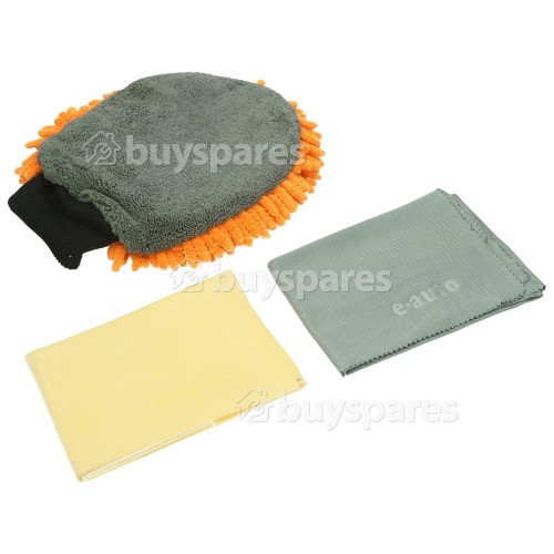 E-Cloth 3 Piece E-Auto Car Cleaning Kit