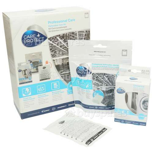 Care+Protect Dishwasher Care Kit (Appliance Cleaning)