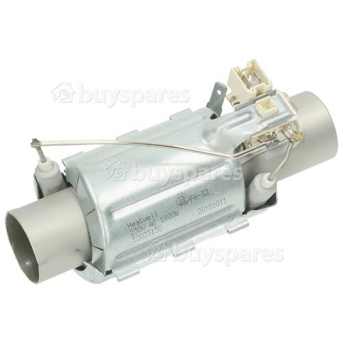 Heater Case Flow Through : Heatwell FH-32 1800w