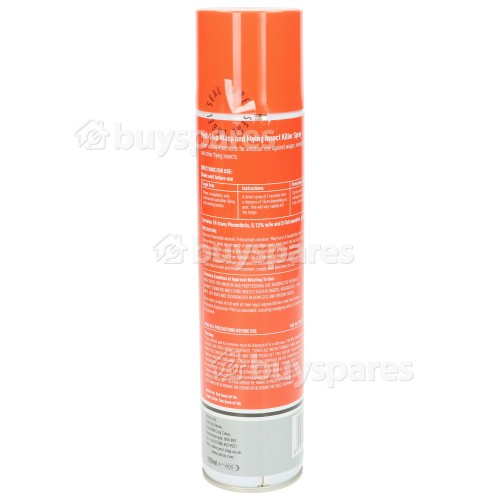 Pest Stop Wasp & Flying Insect Killer Spray - 300ml (pest Control)