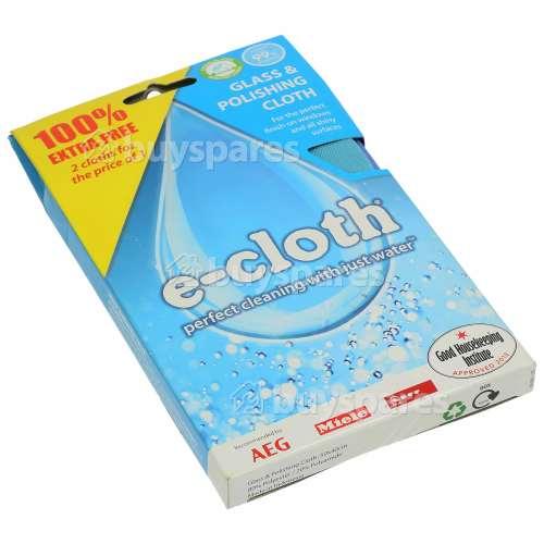 E-Cloth Glass & Polishing Cloth - Pack Of 2