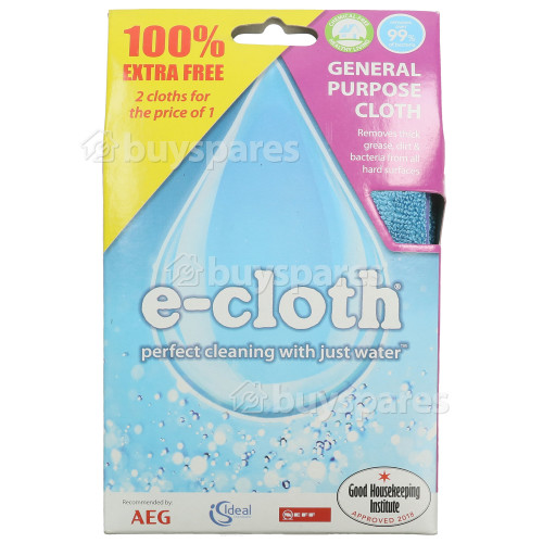E-Cloth General Purpose E-Cloth ( Microfibre ) Pack Of 2