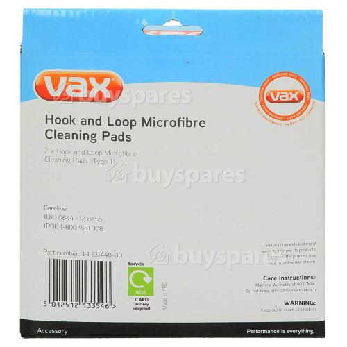 Vax S2S / S6S Series Velcro Mikrofasern Reinigungspad (Type 1)