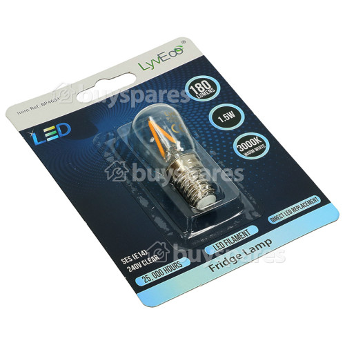 LyvEco 1.5W SES / E14 LED Fridge Lamp (Warm White)