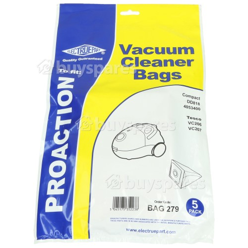 Fam VC Dust Bag (Pack Of 5) - BAG279