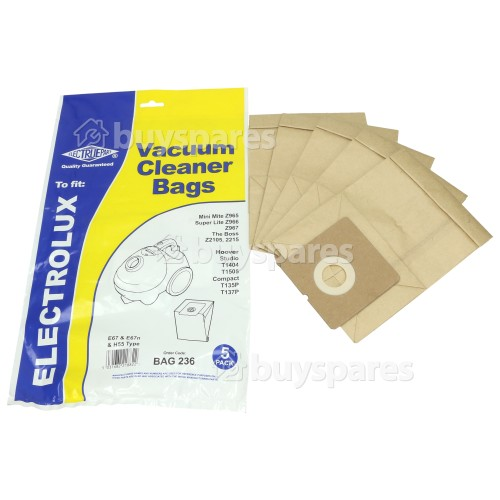 Team E67 Dust Bag (Pack Of 5) - BAG236