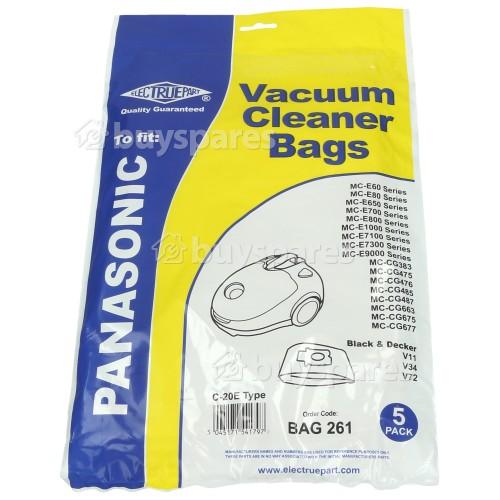 Uralux C20E Dust Bag (Pack Of 5)