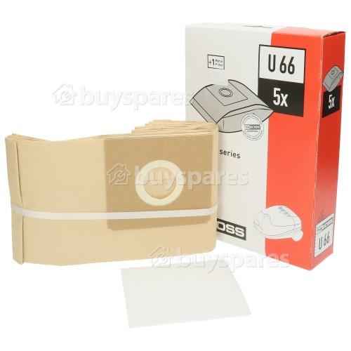 Electrolux U66 Paper Bag (Pack Of 5)