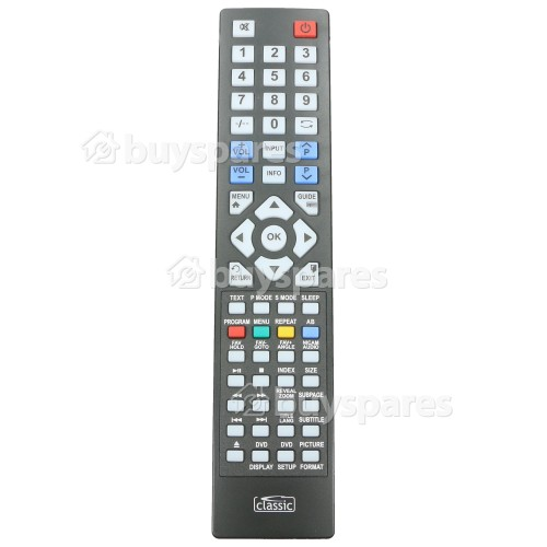 Visual Innovations IRC87047 Compatible TV Remote Control