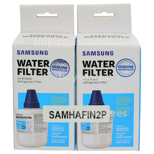 Samsung Internal Water Filter Cartridge HAFIN2/Exp - Pack Of 2