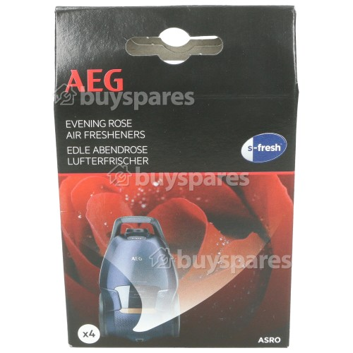 AEG S-fresh® Lufterfrischer - Evening Rose (4er Packung)