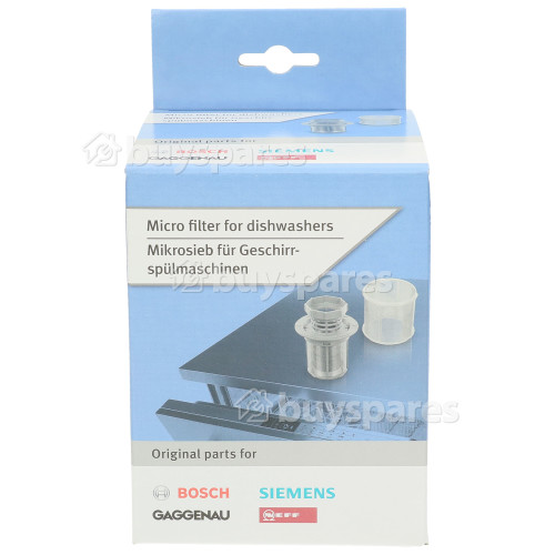 Bosch Neff Siemens Cylindrical Micro Filte