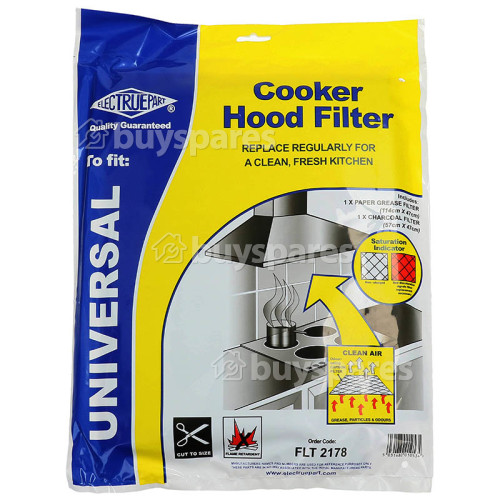 AEG Cooker Hood Grease Paper & Carbon Filter Kit