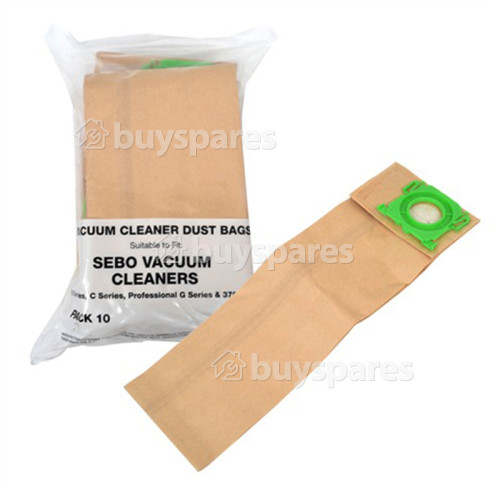 Sebo AUTOMATIC XP2 Compatible 5093ER Vacuum Dust Bags (Pack Of 10)